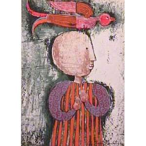 Oiseau I by Graciela Rodo boulanger, 10x13