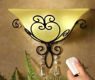 Elegant Green Damask Beaded Shade Double Table Lamp NEW