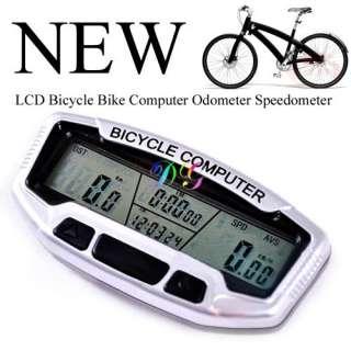 LCD Digital Bicycle Bike Computer Speedometer Odometer