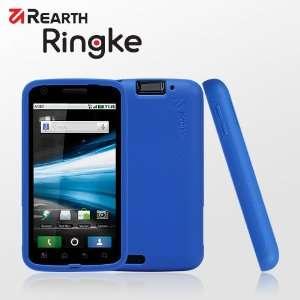 Rearth Ringke Motorola Atrix True Blue Case: Cell Phones