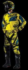 Element Gear Set Combo Toxic Motorcycle Motocross MX Dirt Bike