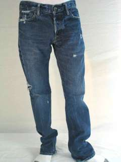 Abercrombie & Fitch Remsen Low Rise Slim Straight Jeans
