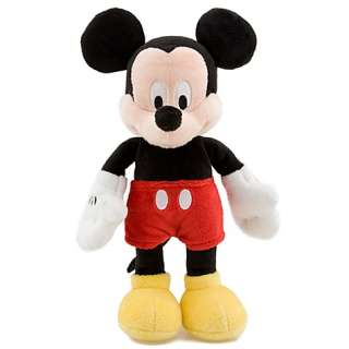 Disney Mickey Mouse Bean Bag Plush Toy 9 H Disney Theme Parks