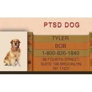 PTSD DOG Badge   1 Dogs Custom ID Badge   Design#2