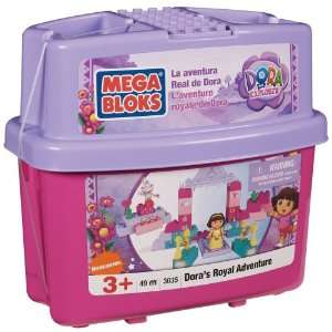 Mega Bloks Doras Royal Adventure Toys & Games