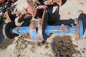 Ford 4000 Tractor 3 Cylinder Rear End