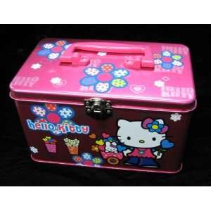 Hello Kitty  Electric Pink Purse/Storage Case/Lunch Box Toys & Games