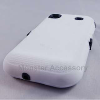 Double Layer White Hard Gel Case Samsung Galaxy S 4G