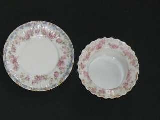 Victorian Art Nouveau Limoges Porcelain Ramekin