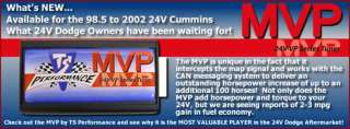 TS MVP Tuner 1100301   2001 Dodge Ram Cummins   TS Performance MVP