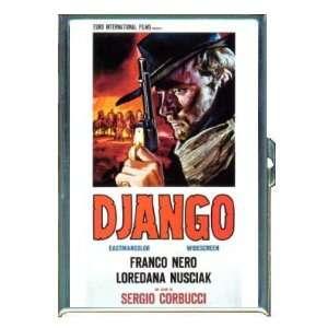 Franco Nero Django Poster 1966 ID Holder, Cigarette Case