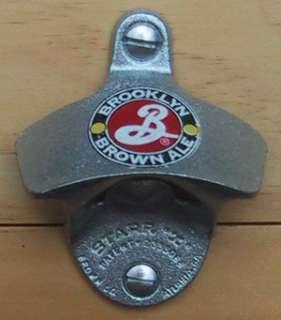 BROOKLYN BROWN ALE Starr X Wall Mount Bottle Opener NEW
