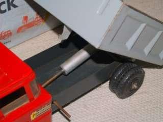 MARX 1960s POWERHOUSE HYDRAULIC DUMP TRUCK LORRY #1067 BOXED