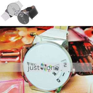 Fashion Women Ladies Quartz WristWatch Leather Band New