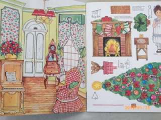 Ginghams Home & School 2 Paper Doll Books 1976 Uncut Whitman