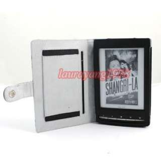 LEATHER POUCH CASE COVER for SONY PRS T1 PRST1 eBOOK READER eREADER
