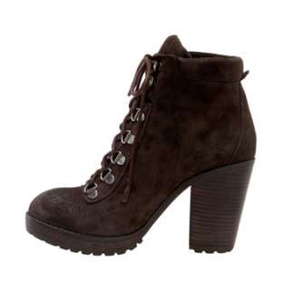 NEW DV by Dolce Vita Prince Bootie Brown Suede Ankle Boots
