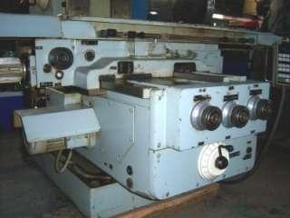 MWM HECKERT MOD. FW315X1250 10HP HORIZONTAL MILLING MACHINE