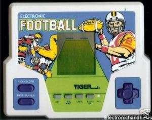 1988 TIGER ELECTRONIC FOOTBALL HANDHELD HAND HELD GAME