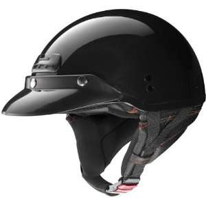 Nolan Super Cruise Half Face Motorcycle Helmet   Metallic