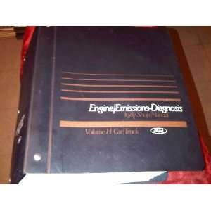 Ford Shop Manual Engine/Emmissions Diagnosis Car/Truck Ford Books