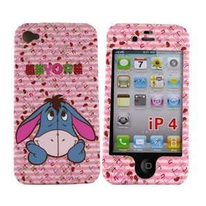 Disney Protector Case for iPhone 4, Eeyore Pink