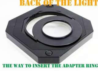 Macro O Ring Flash LED Light Set for Canon Nikon Sony