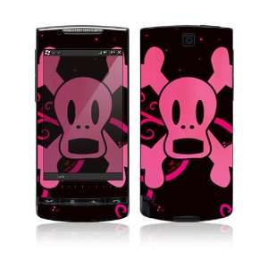 Pink Screaming Crossbones Protective Skin Cover Decal