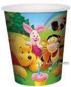 Disney Winnie the Pooh Birthday Party Paper Cups 6pcs
