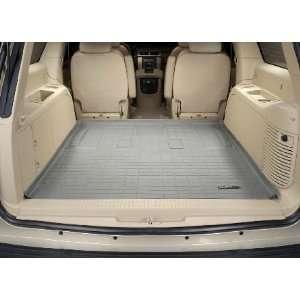 2007 2011 Cadillac Escalade ESV Weathertech Cargo Liner (Grey) [Behind
