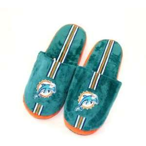 Miami Dolphins Mens Slippers House Shoes: Sports & Outdoors