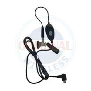 BLACK Send/End Button & Shirt Clip High Quality Practical Electronics