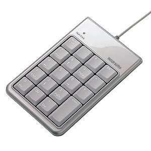 Portable USB Numeric Number Keypad with 2 Port USB Hub for