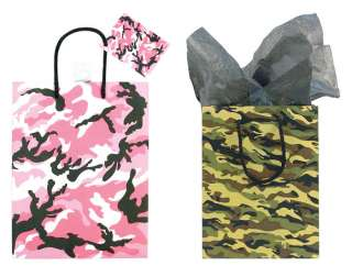 Military Style Event Party Favor Camo Goody Gift Bag