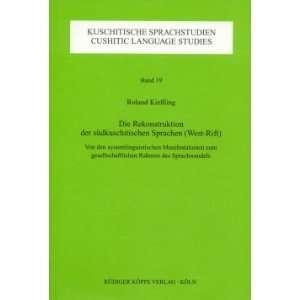 Vol.19) (9783896450661): Roland Kießling, Hans Jürgen Sasse: Books