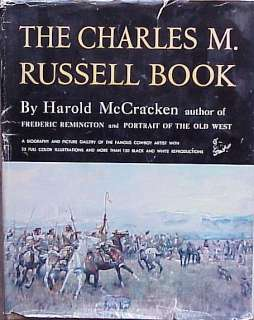THE CHARLES M. RUSSELL BOOK   HAROLD MCCRACKEN
