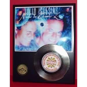 Julio Iglesias 24kt Gold Record LTD Edition Display ***FREE PRIORITY