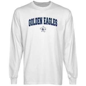 NCAA Oral Roberts Golden Eagles White Logo Arch Long