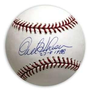 Mounted Memories Los Angeles Dodgers Orel Hershiser