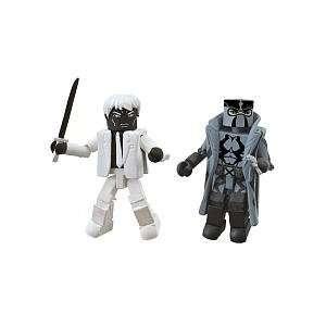 Exclusive Mini Figure 2Pack Fantomex Mr. Negative Toys & Games