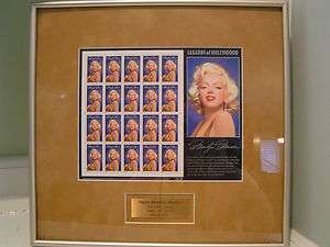 Only 1 on  Marilyn Monroe Legends of Hollywood Stamp 1995