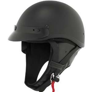 Harley Cruiser Motorcycle Helmet   Flat Black / X Small Automotive