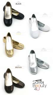 NEW Fashion Womens Comfy Casual Sparkle Sequence Ballet Flat Shoes