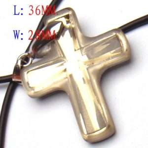 C9473 Chic charm Cross Crystal glass Necklace Pendant