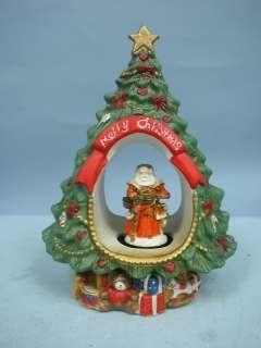 Ceramic Musical Christmas Tree Music Box