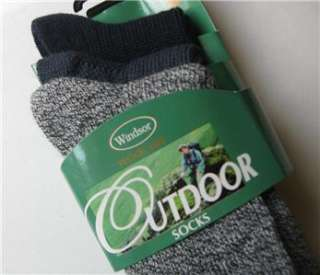 NWT*mens wool blend socks*3 PAIRS*navy and navy blend*FREE US SHIP