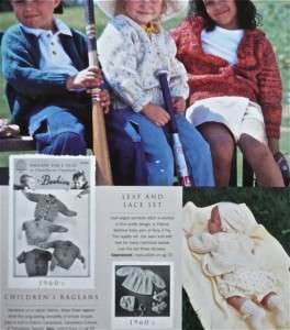Patons KNIT+CROCHET Pattern FAVORITES~Aran+Afghan+Baby+