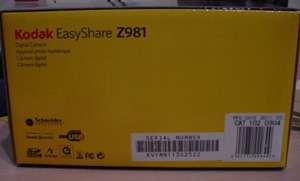 KODAK EASYSHARE Z981 DIGITAL CAMERA 14.0MP 26X *NEW SEALED* $5 SHIP