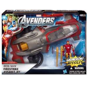 Iron Man Firestrike Assault Jet Marvel The Avengers Stark