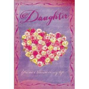 Valentines Day Greeting Card for Daughter   Treasure In